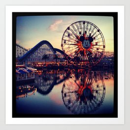 California Adventures Art Print