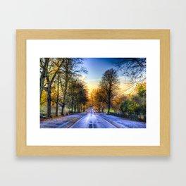 Greenwich Park London Framed Art Print