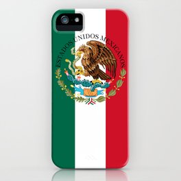 Mexican National Coat of Arms & Seal (HQ image) iPhone Case