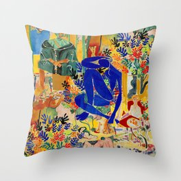 Henri el Matisse Throw Pillow