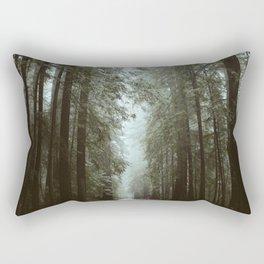 Through The Redwoods. Rectangular Pillow