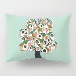 Bird houses Pillow Sham