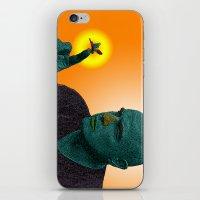 apocalypse now iPhone & iPod Skins featuring Apocalypse Now Marlon Brando by CultureCloth
