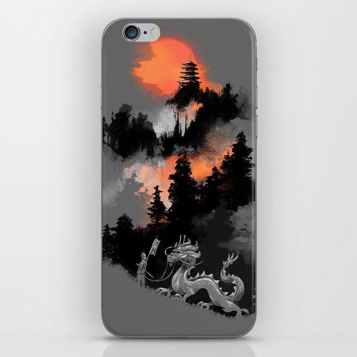 A samurai's life iPhone Skin