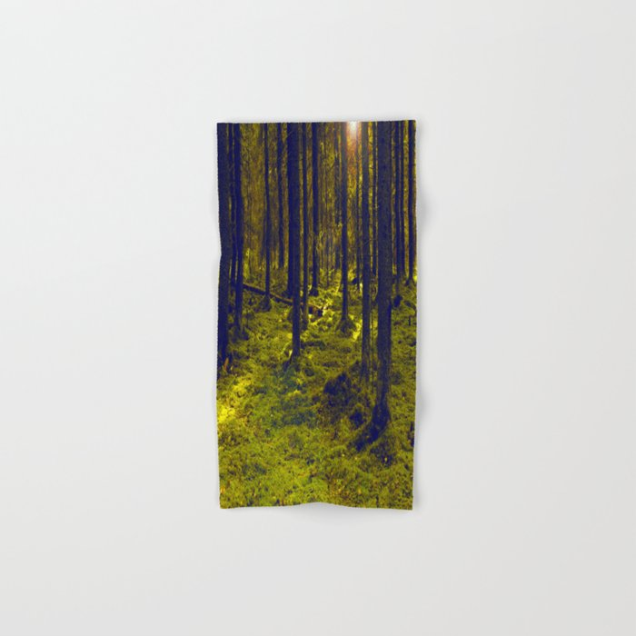 Green Forest #decor #society6 Hand & Bath Towel