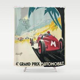 DK Mountain Grand Prix Shower Curtain