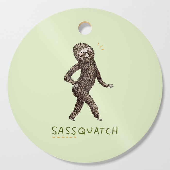 Sassquatch Cutting Board
