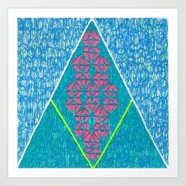 diam-IN-d Art Print
