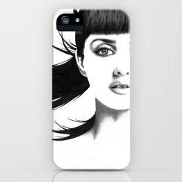 Penélope Cruz iPhone Case