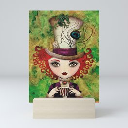 Lady Hatter Mini Art Print
