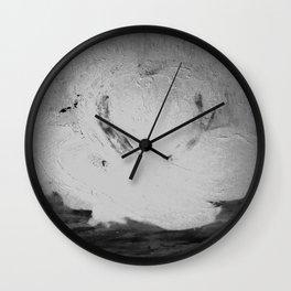 Abstract in Nature Shadows Wall Clock