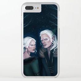 The Winter Court Clear iPhone Case