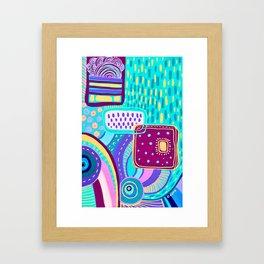 Pop Abstract Framed Art Print
