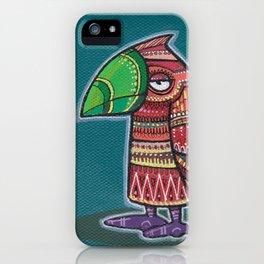 Doodlebird Orangey iPhone Case