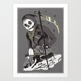 Mobile Death Squad Art Print