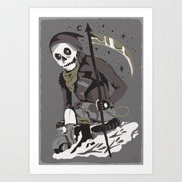 Mobile Death Squad Art Print