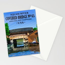 Covered Bridge #65 Stationery Cards