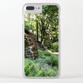 lime kilns in the santa cruz mountains Clear iPhone Case