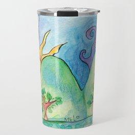 Whimsical World Travel Mug