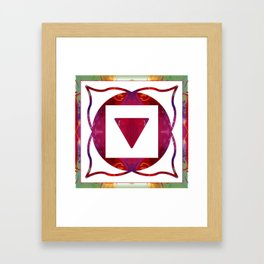 Stabilized Emotions And Thoughtful Feelings Framed Art Print