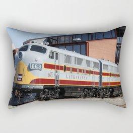 Engine 664 Lakawanna Railroad Rectangular Pillow