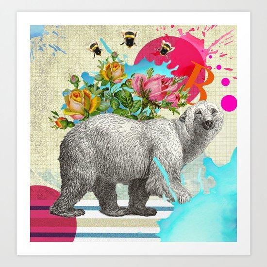 Polar Dance 2 Art Print