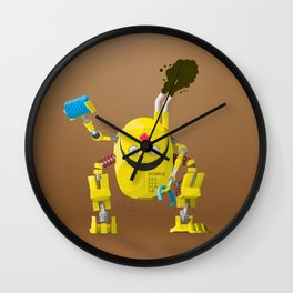 BY34R-D Wall Clock