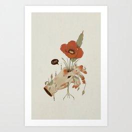 Te amo Art Print
