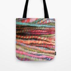 Handspun Yarn Color Pattern by robayre Tote Bag