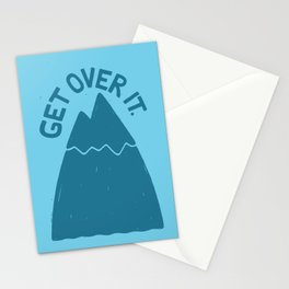 GET OVER /T Stationery Cards