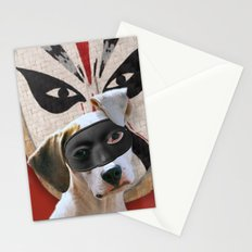 Kabooki Pooch in training Stationery Cards