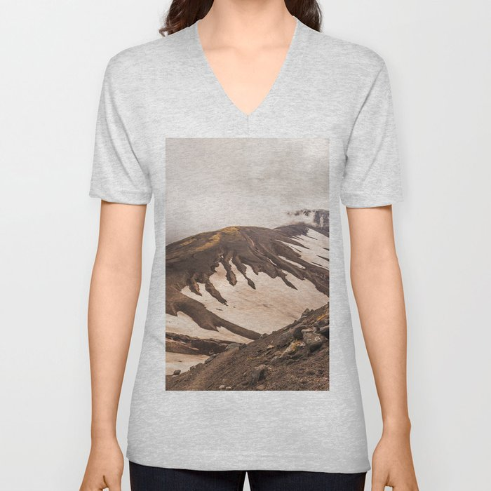 Volcanic Graphics Unisex V-Neck