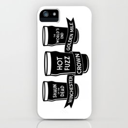 The Winchester, The Crown & The Golden Mile iPhone Case