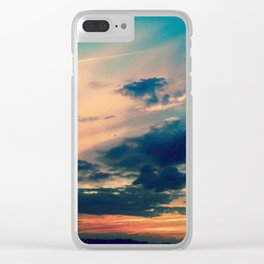 """""""Chicago Sunset of Hues"""" Clear iPhone Case"""