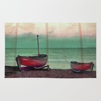 sailboat Area & Throw Rugs featuring Sailboat by Regan's World