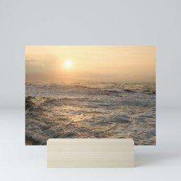 sunset hookipa beach maui hawaii Mini Art Print
