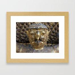 Golden Garuda Framed Art Print