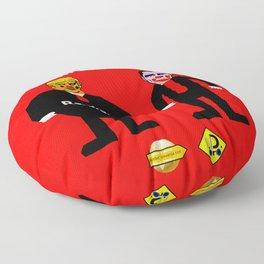 Clown Presidents Floor Pillow