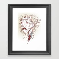 DR. Framed Art Print