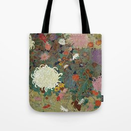 flower【Japanese painting】 Tote Bag