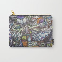 Abstract_City Carry-All Pouch