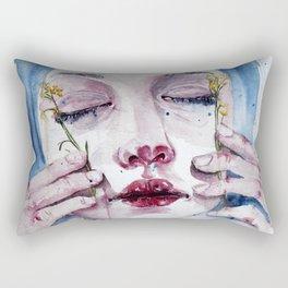 Marsh Flowers Rectangular Pillow