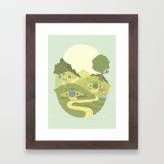The Shire Framed Art Print