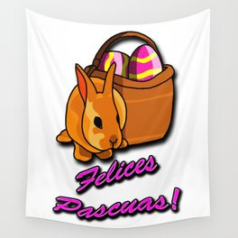 Felices Pascuas Wall Tapestry