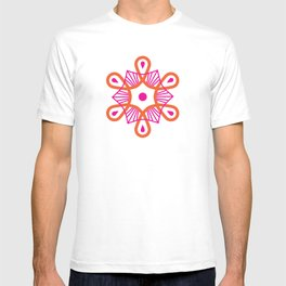Citrus Morning Mandala T-shirt