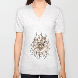 Helios the severe and the sweet Unisex V-Neck