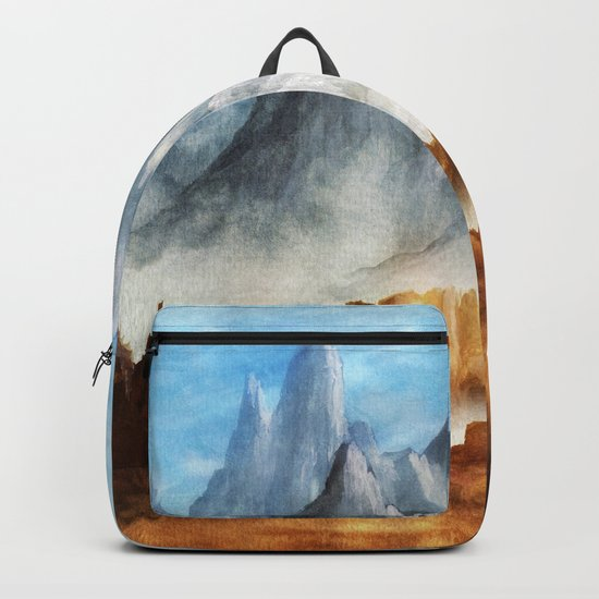 Over The Mountains Backpack