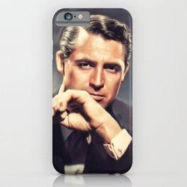 Cary Grant, Holywood Legend iPhone Case