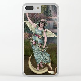 THE EMPRESS TAROT CARD Clear iPhone Case