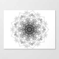 mandala - muse 2 Canvas Print